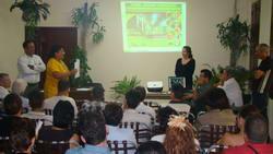 Los participantes coincidieron en la necesidad de conservar el Medio Ambiente. Foto Karenia
