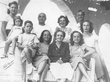 Familia de Chiqui Gómez-Lubián