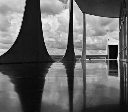 Palacio de Alvorada, Brasilia. Foto Marcel Gautherot.