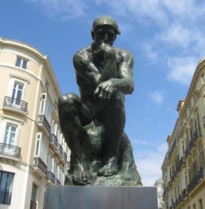 El pensador, Auguste Rodin