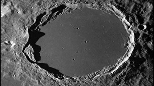 El cráter Plato donde se han observado estos fenómenos