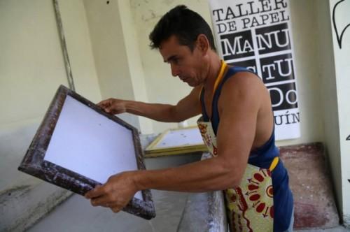 Editorial Cuadernos Papiro, Holguín – Cuba. Foto: Jean-Claude Orru / Cubadebate