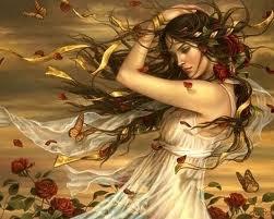 cabellos al viento